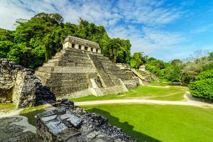 Temples in Palenque by jkraft5