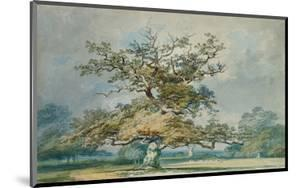 A Landscape with an Old Oak Tree by JMW Turner