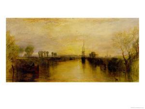 Chichester Canal, circa 1829 by JMW Turner