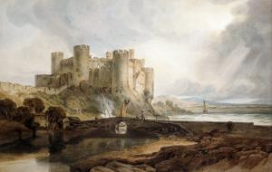Conway Castle, circa 1802 by JMW Turner