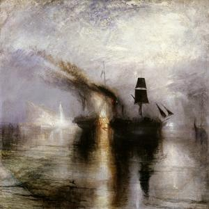 Peace - Burial at Sea by JMW Turner