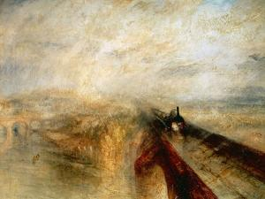 """Rain, Steam And Speed """"The Great Western Railway"""" 1844 by JMW Turner"""