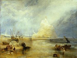 St. Michael's Mount, c.1824 by JMW Turner