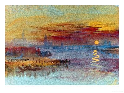 Sunset on Rouen