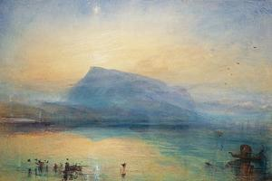 The Blue Rigi: Lake of Lucerne - Sunrise, 1842 by JMW Turner