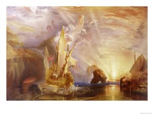 Ulysses Deriding Polyphemus by JMW Turner