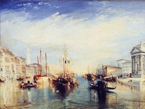 Venice, from the Porch of the Madonna Della Salute, C1835 by JMW Turner