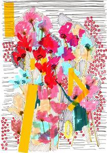 Floral Doodle 3, 2013 by Jo Chambers