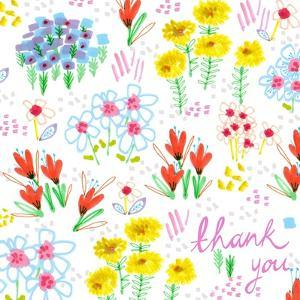 Floral Garden - Thank You, 2014 by Jo Chambers