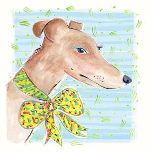 Greyhound, 2015 by Jo Chambers