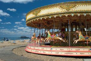 Having Fun on Brighton Beach, England by Jo Chambers