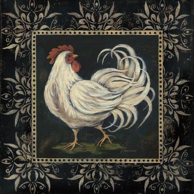 Black and White Rooster II
