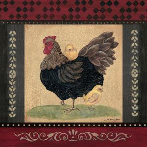 Cottage Hen by Jo Moulton