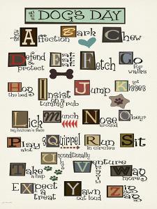 Dog Alphabet by Jo Moulton