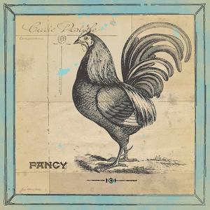Fancy Rooster by Jo Moulton