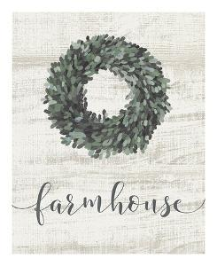 Farmhouse Wreath by Jo Moulton