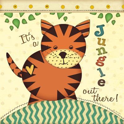 Jungle Tiger by Jo Moulton