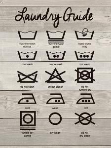 Laundry Guide by Jo Moulton