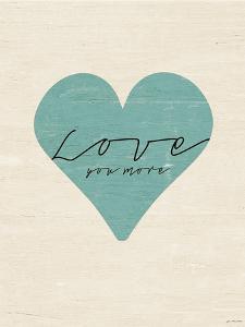 Love You More Heart by Jo Moulton