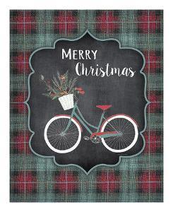 Merry Christmas Bike by Jo Moulton