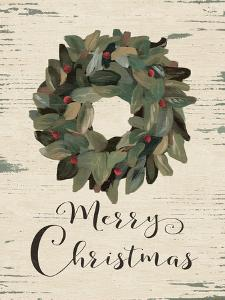 Merry Christmas Wreath by Jo Moulton