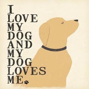 My Dog Loves Me by Jo Moulton