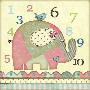 Number Elephant by Jo Moulton