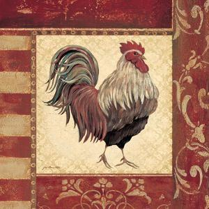 Red Rooster I by Jo Moulton