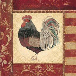 Red Rooster IV by Jo Moulton