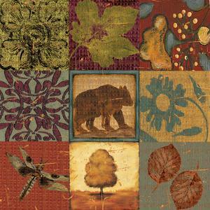 Teton Tapestry I by Jo Moulton