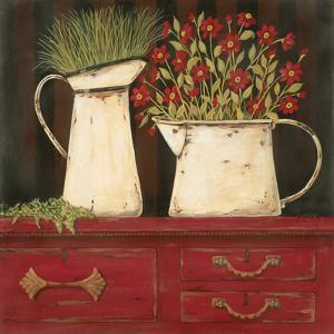 The Red Cupboard by Jo Moulton