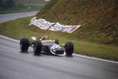 Jo Siffert's Lotus-Ford, French Grand Prix, Rouen, 1968--Photographic Print