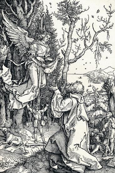 Joachim and the Angel, 1506-Albrecht D?rer-Giclee Print
