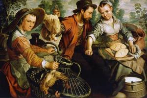 At the Market, 1564 by Joachim Beuckelaer