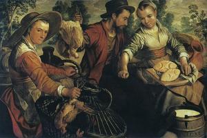 At the Market, C1554-1574 by Joachim Beuckelaer