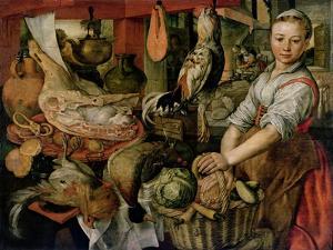 Kitchen Interior, 1566 by Joachim Beuckelaer