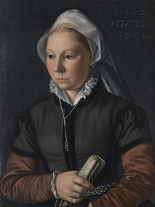 Portrait of a Young Woman, 1562 by Joachim Beuckelaer