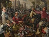 The Vegetable Seller-Joachim Beuckelaer-Giclee Print