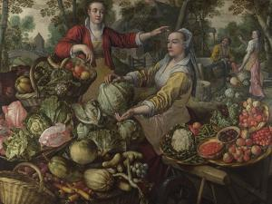 The Four Elements: Earth, 1569 by Joachim Beuckelaer