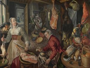 The Four Elements: Fire, 1569 by Joachim Beuckelaer