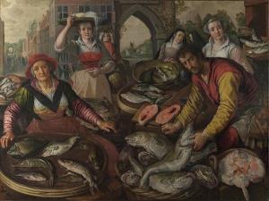 The Four Elements: Water, 1569 by Joachim Beuckelaer