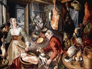 The Four Elements by Joachim Beuckelaer