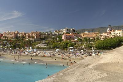 Beach Playa del Duque at the Costa Adeje, Tenerife, Canary Islands, Spain