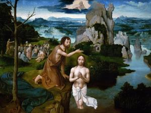 The Baptism of Christ by Joachim Patenir