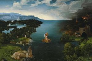 Crossing the River Styx, 1520-1524 by Joachim Patinir