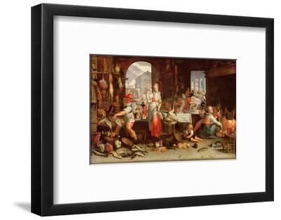Kitchen Scene with the Parable of the Feast