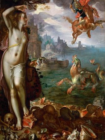 Perseus Freeing Andromeda