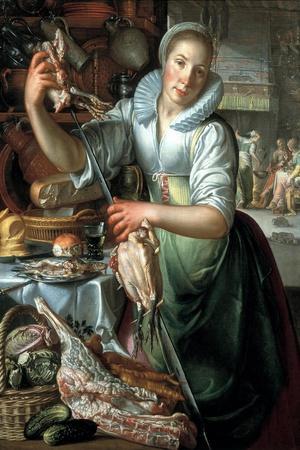 The Kitchen Maid, Ca 1620-1625