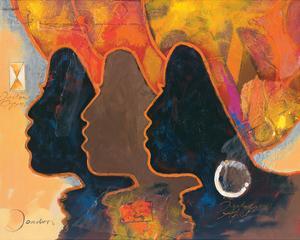 Black Triplets by Joadoor