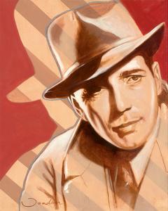 Portrait of H. Bogart by Joadoor